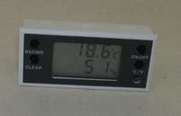 digitale thermo- / hygrometer