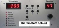 8 Broedmachine thermostaat inclusief hygroschakeling sch-23