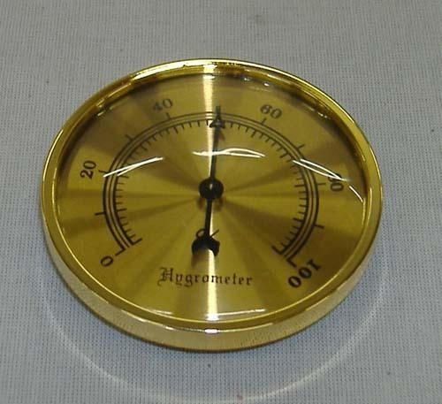 hygrometer rond 70 mm