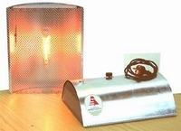 infraroodstraler caldobello 2 voorzien van thermostaat